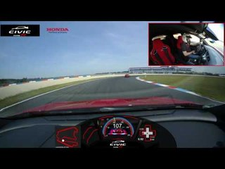 Así es una vuelta dentro de un Honda Civic Type R | Diariomotor