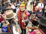 Inti Raymi o Fiesta del Sol fue organizada por varias universidades de Quito