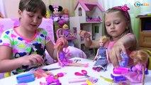 Bad Baby How to Cut Barbie Doll Hair – Barbie Hair Cut | Плохая девочка постригла Куклу Ба