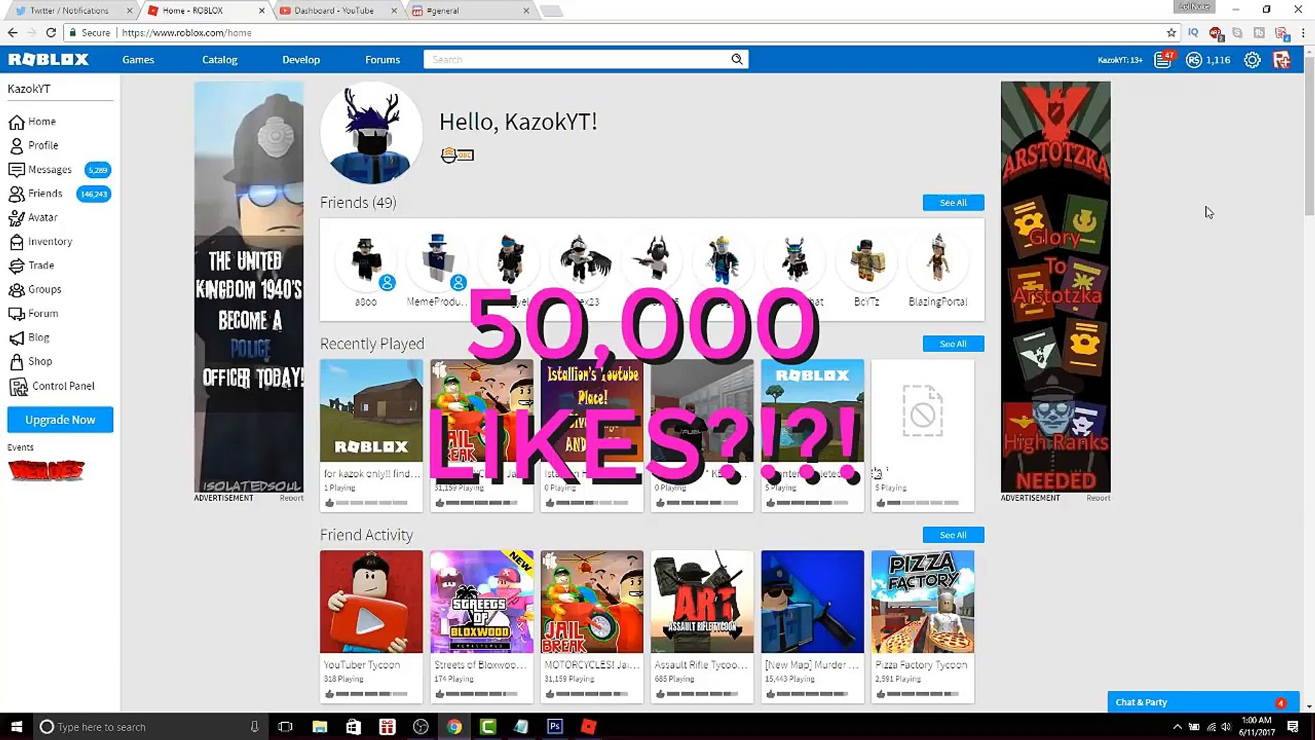 This Free Robux Game Actually Works Only Working Free Robux