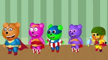 Wrong Heads Epic Finger Family Nursery Rhymes   Wrong Heads, Wrong Eyes   Learn Colors for