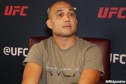 B.J. Penn briefly considered walking away but had to finish what he started