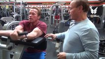 Training Ronnie Coleman & Arnold Schwarzenegger 2017 Age is Just A nUmber