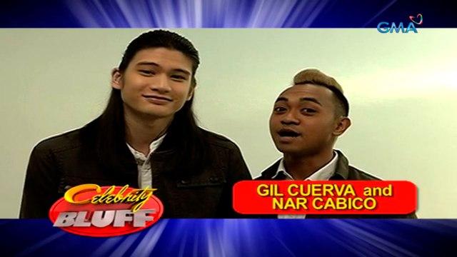 Celebrity Bluff: Gil Cuerva and Nar Cabico