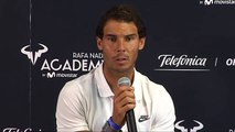 (Low) Rafael Nadal at the Telefonica event at Rafa Nadal Sports Centre, 14-06-2017