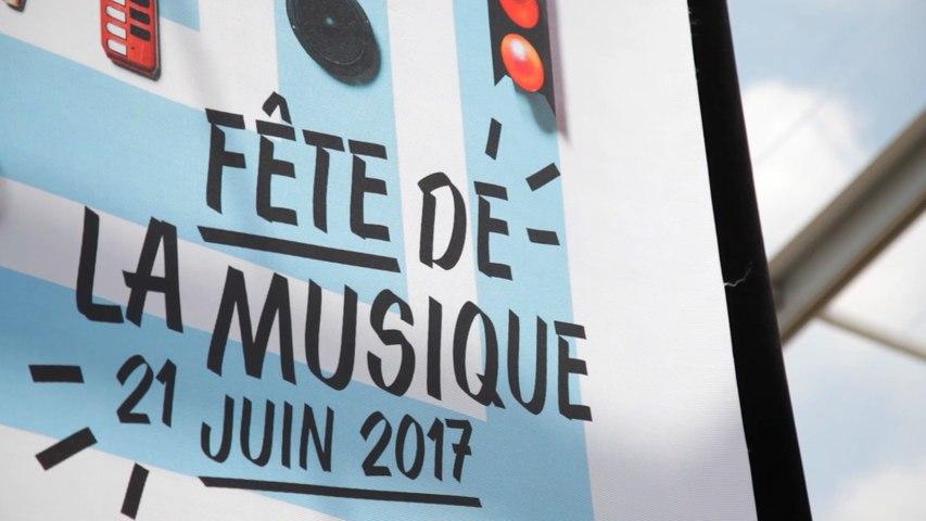Lancement de la Fête de la Musique au Palais-Royal