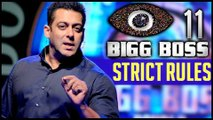 Salman Khan's Bigg Boss 11 Goes STRICT With Contestant | Bigg Boss 11 Rule Book
