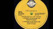 Presence - Presence In The House (House Of Horror) (B2)