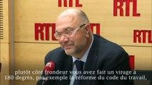 """""""Personne ne me demande de me renier sur ce qui fait mon ADN politique"""", déclare Travert sur RTL"""