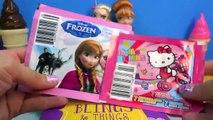 Queen Elsa Princess Anna Playdoh Doh Frozen Sticker Box Toy Play