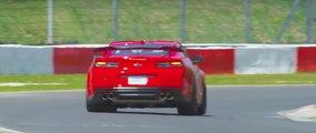 VÍDEO: ¡Tiempazo! El Chevrolet Camaro ZL1 conquista Nurburgring