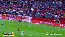 Gol di Steven N'Zonzi contro l'Atletico Madrid