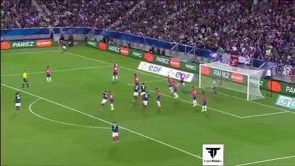 Gol di Matuidi con la Francia