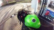 Kawasaki ninja 636 winter ride !)