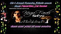Kenza Farah feat Sefyu - Lettre du front KARAOKE / INSTRUMENTAL