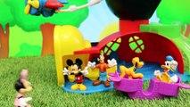 Première souris mon parc porc théâtre jouets Lego duplo mickey minnie peppa george disneyc