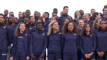 Lille 2017 : Les Bleus rassemblés avant la compétition !
