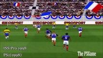[HD] Pro Evolution Soccer PlayStation Evolution (1996 2016)