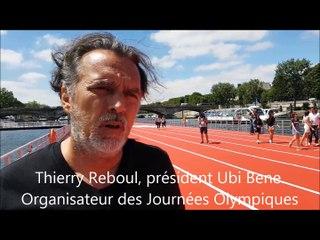 Thierry Reboul, président d'Ubi Bene, concepteur des Journées Olympiques à Paris
