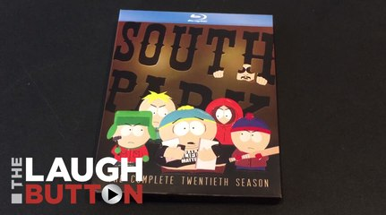 Unboxing South Park Season 20 on Blu-ray