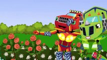 ᴴᴰ BLAZE CAR MONSTER MACHINES : Bus Collision Full Episodes | Monster Truck Cartoon For Ki