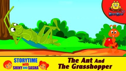 The Ant and The Grasshopper   Kids Learning Stories   Story With Moral   Animated children Stories