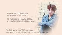 BTS Suga, Jin, & Jungkook so far away (SUGA, 진, 정국 Ver.) [Han|Rom|Eng lyrics]
