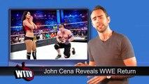 John Cena Reveals WWE Return! BIG TNA Impact Wrestling Title Change! | WrestleTalk News Ju