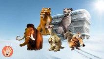 Hielo edad dibujos animados dedo familia vivero rima vivero rimas canción colección