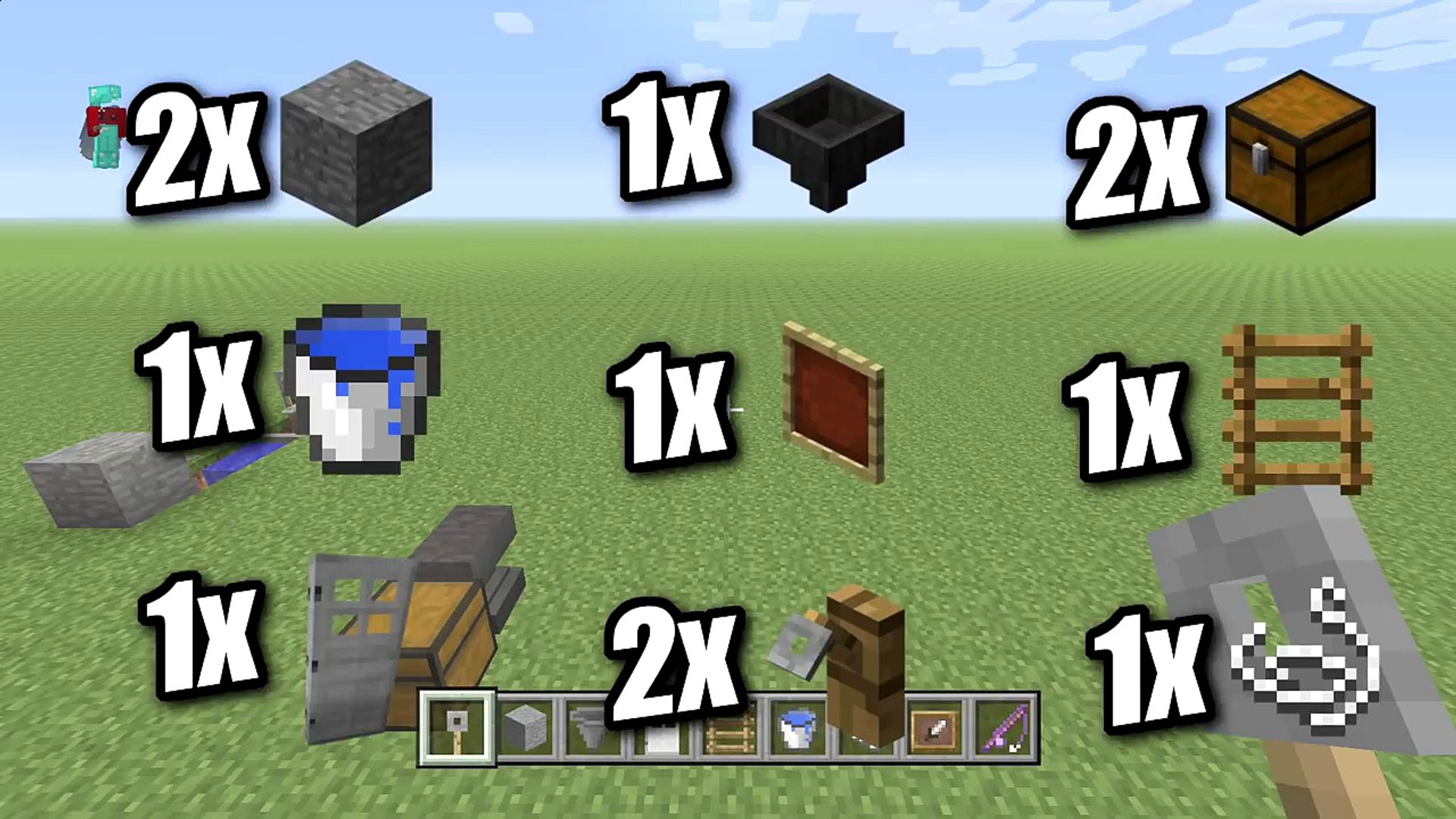 Minecraft Afk Fish Farm Redstone Free Tutorial Xbox Ps4 Pe Ps3 Switch Video Dailymotion