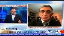 """""""Hitler vivió en Argentina, en Paraguay y en varios países como Colombia"""": periodista de investigación Abel Basti sobre hallazgo nazi"""