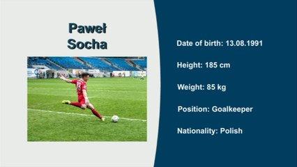 Paweł Socha, Video no 1, Seasons 16/17, 14/15, 13/14 and 12/13, Goalkeeper