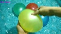 Ballon des ballons enfants les couleurs la famille doigt pour enfants Apprendre chansons eau  