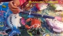 Đồ Chơi Câu Cá Liên khúc nhạc thiếu nhi Cá Vàng Bơi - New Fishing game set of KidMusic88 C