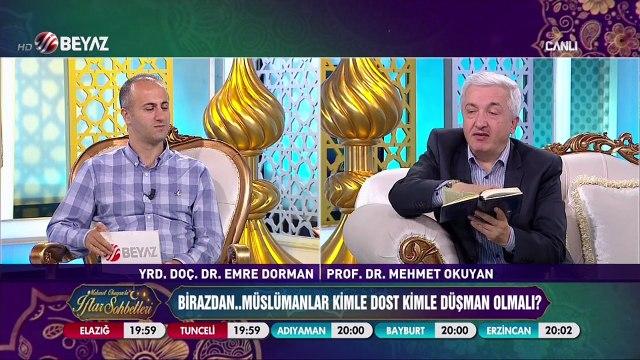 Mehmet Okuyan'la İftar Sohbetleri 23 Haziran 2017