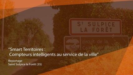 Dossier Smart Territoires : Des compteurs intelligents au service de la ville à Saint Sulpice la Forêt (35)