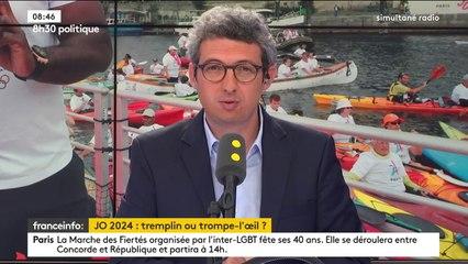 """Danielle Simonnet : """"Les choix des JO2024 ne correspondent pas aux intérêts de la population"""" - France info - 24/06/2017"""