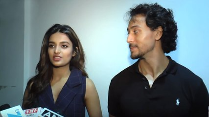 Tiger Shroff and Nidhhi Agerwal INTERVIEW for Munna Michael At Red FM
