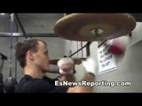 Mexican Russian Gradovich Last Workout Before fight in china EsNews