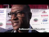 Comedian Tommy Davidson on sugar ray leonard hearns and floyd EsNews