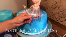 Pastel De Frozen En Chantilly Muy Fácil Madelins Cakes