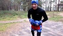 Débutants Boxe pour dans jambes mouvement Dans le pour Débutants mouvement de boxe