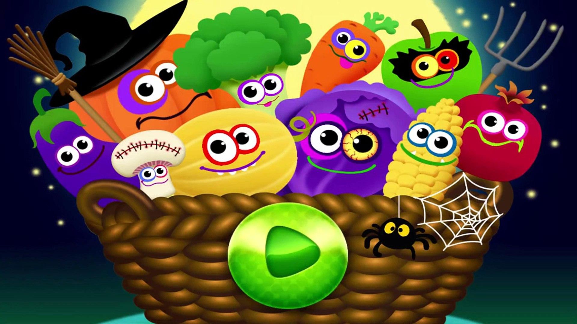 И Детка ребенок питание фрукты Веселая Игры Узнайте имен из играть овощи с