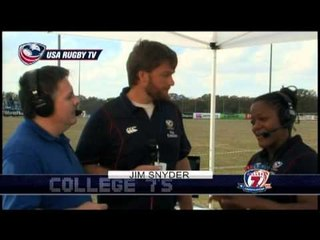 Break Interviews - 2012 USA Rugby College 7s National Championship