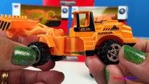 Aventure et ciment déverser feu les machines puissant un camion roues avec ambulance alimentaire