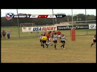 Arkansas State vs. Kutztown - Men's Match 45 - 2012 USA Rugby College 7s National Championship