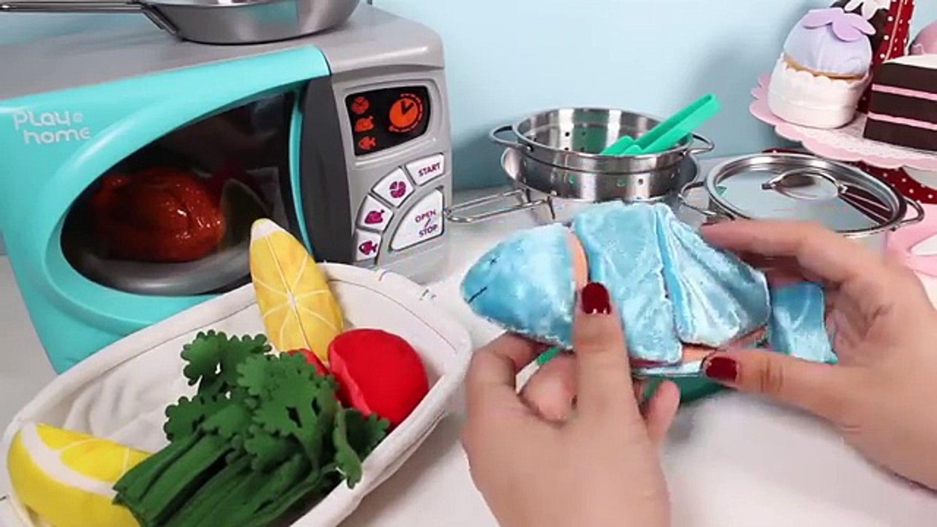 Готовка резка рыба игрушка Игрушки овощи липучка шелушение Ikea хорошо