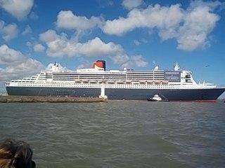 arrivée du Queen Mary 2 à Saint-Nazaire partie 3