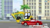 Camiones grandes en español - Coches en la ciudad - Carritos en Tiki Taki Camiónes