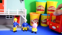 Incroyable et épisode feu pompier amis porc pâte à modeler Sam thomas garage peppa
